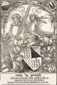 HANS SEBALD BEHAM: Das Wappen des Hector Pömer.