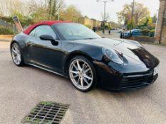 (RESERVE MET) Porsche 911 Carrera S-A Cabriolet (992 Model) - Auto (PDK) - 2020 20 Reg - 379 BHP -