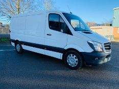 Mercedes Sprinter 313 CDI 6 Speed 129 BHP MWB - 2015 15 Reg - AIR CON - SAT NAV - 1 Keeper From New