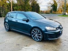 (RESERVE MET) Volkswagen (VW) Golf 2.0 TDI DTD 2015 Model - 180 BHP - TOP SPEC