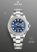 (Reserve met)Rolex Yacht-Master 40 Blue Dial, Platinum Bezel, Ref 126622, BRAND NEW, UNWORN