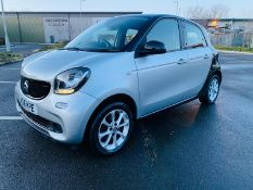 (RESERVE MET)Smart ForFour 1.0 Passion 5dr 2016 16 Reg - Cruise Control - Bluetooth -