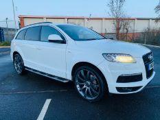 (RESERVE MET) Audi Q7 3.0 TDI Quatto S Line Plus Auto (7 Seats) - 12 Reg -Only 63k Miles -Sat Nav -