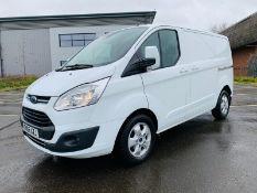 (RESERVE MET) Ford Transit Custom *Limited* 2.0 TDCI (129 BHP) 2017 Reg - Air Con - Sat Nav - Euro6