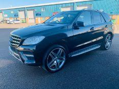 "(RESERVE MET) Mercedes ML350d ""AMG"" Sport Bluetec Auto - 2013 Model - 255 BHP - Black Leather"