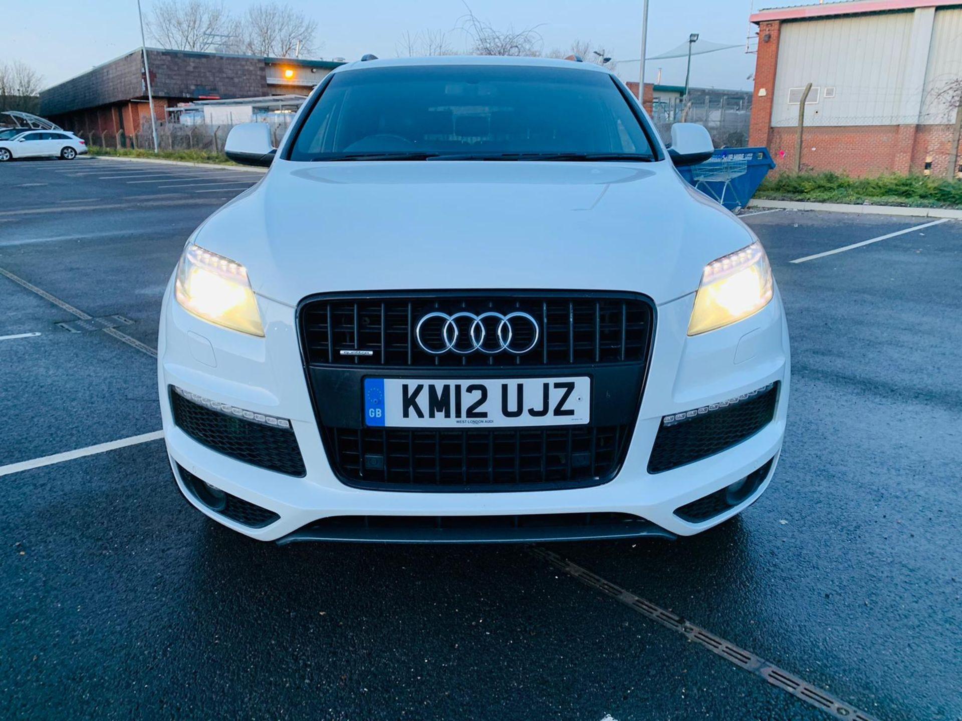 (Reserve Met)Audi Q7 3.0 TDI Quattro S Line Plus Auto (7 Seats) - 12 Reg - Only 63k Miles -Sat Nav- - Image 6 of 37