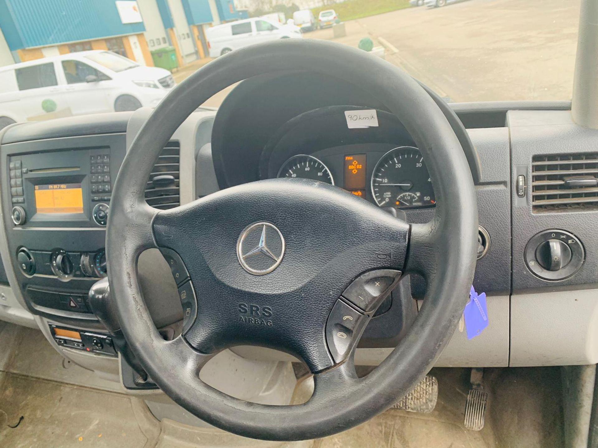 (RESERVE MET) Mercedes Sprinter 516CDI (160 BHP) XLWB 20ft Flatbed Body - 6 Speed - 2013 13 Reg - - Image 14 of 15