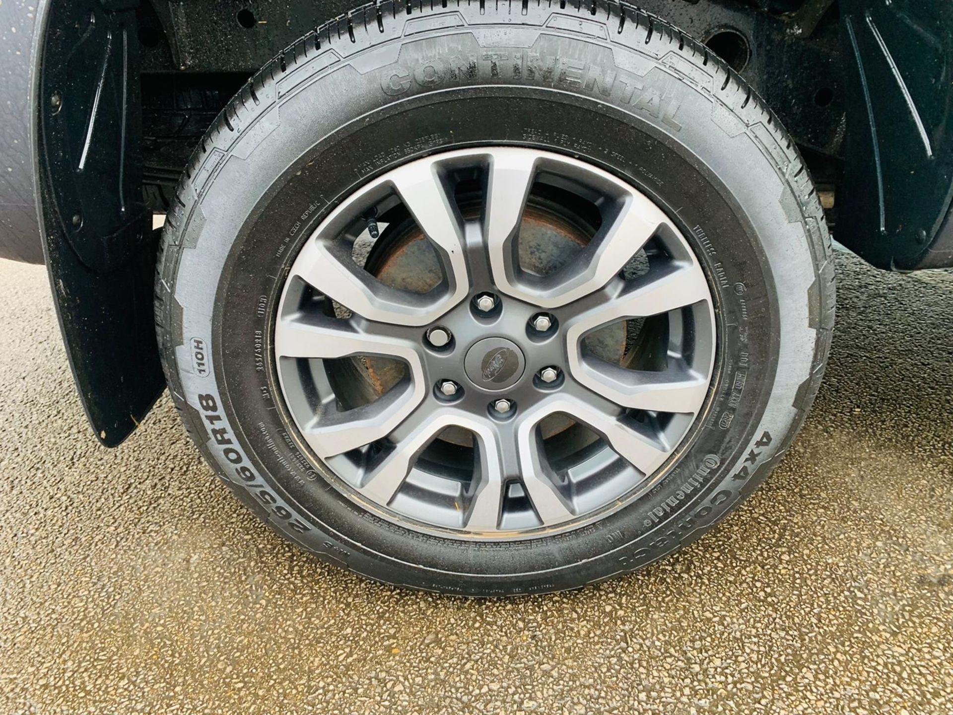 (RESERVE MET) Ford Ranger 2.2 TDCI LTD 4x4 Double Cab 2017 17 Reg - Reversing Cam -Leather - Sat Nav - Image 15 of 32