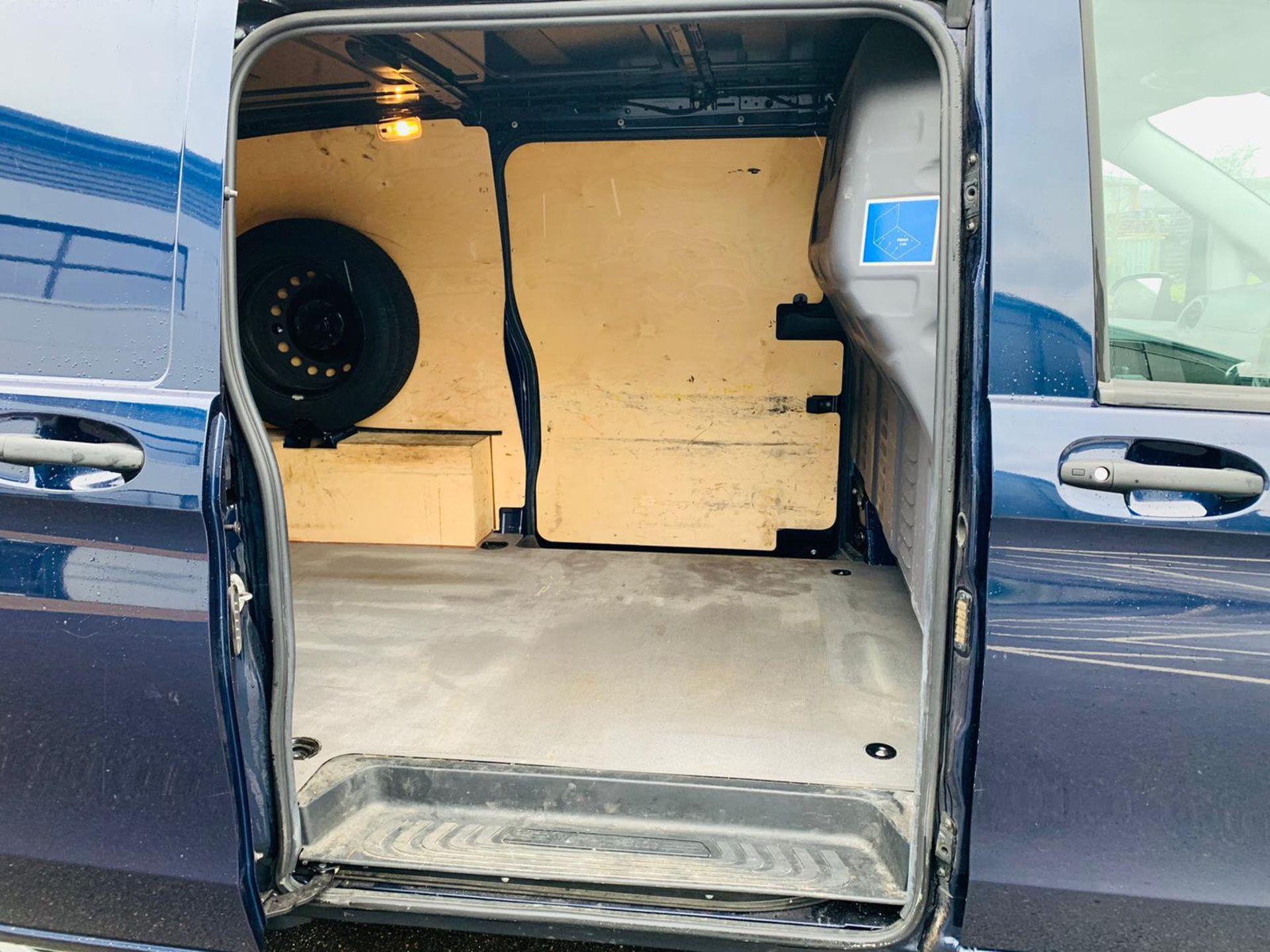(RESERVE MET) Mercedes Vito 116Cdi Sporty Spec (161 BHP) Bluetech 6 Speed Van - 2016 Model - AC - Image 11 of 28