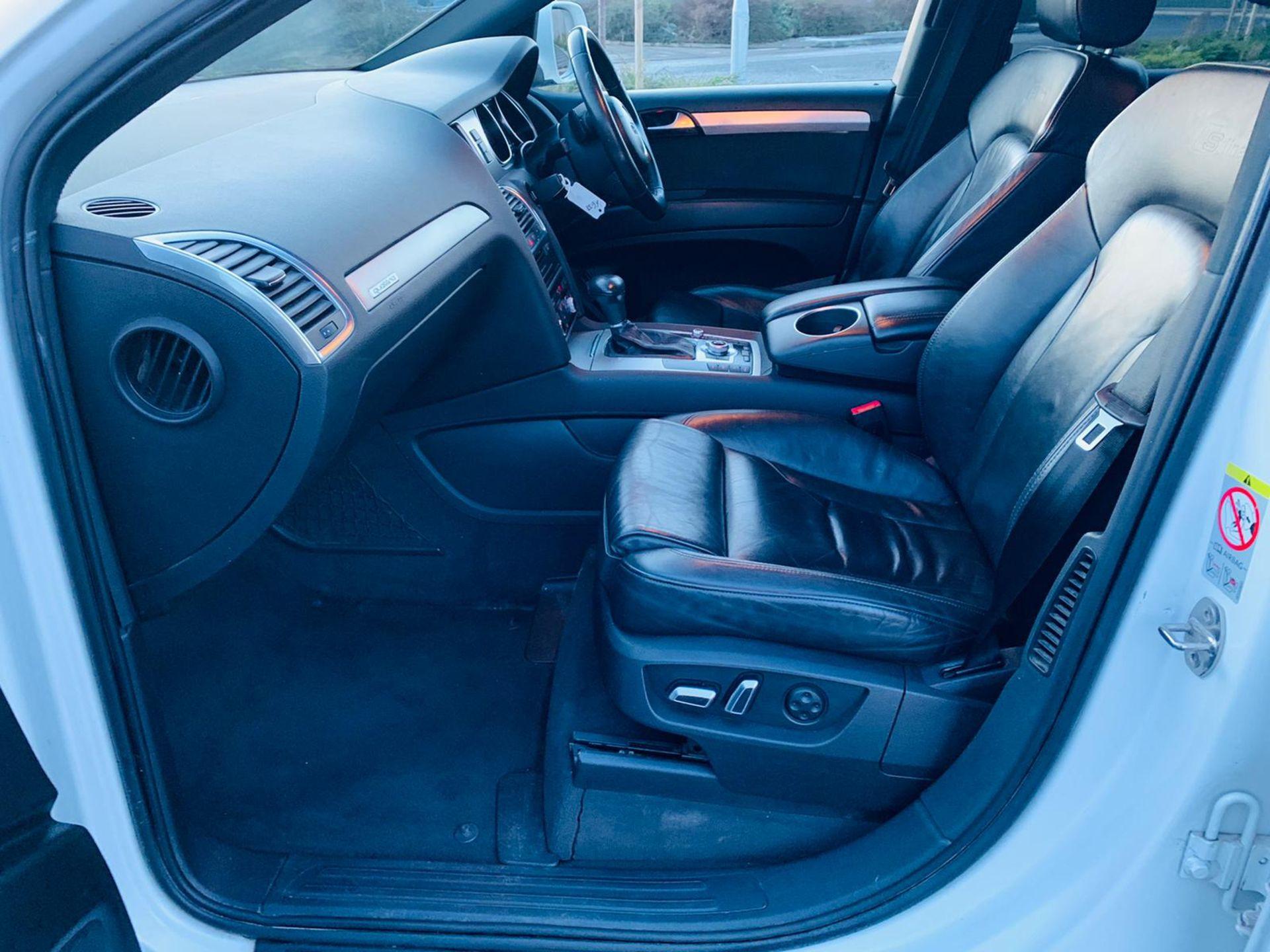 (Reserve Met)Audi Q7 3.0 TDI Quattro S Line Plus Auto (7 Seats) - 12 Reg - Only 63k Miles -Sat Nav- - Image 18 of 37