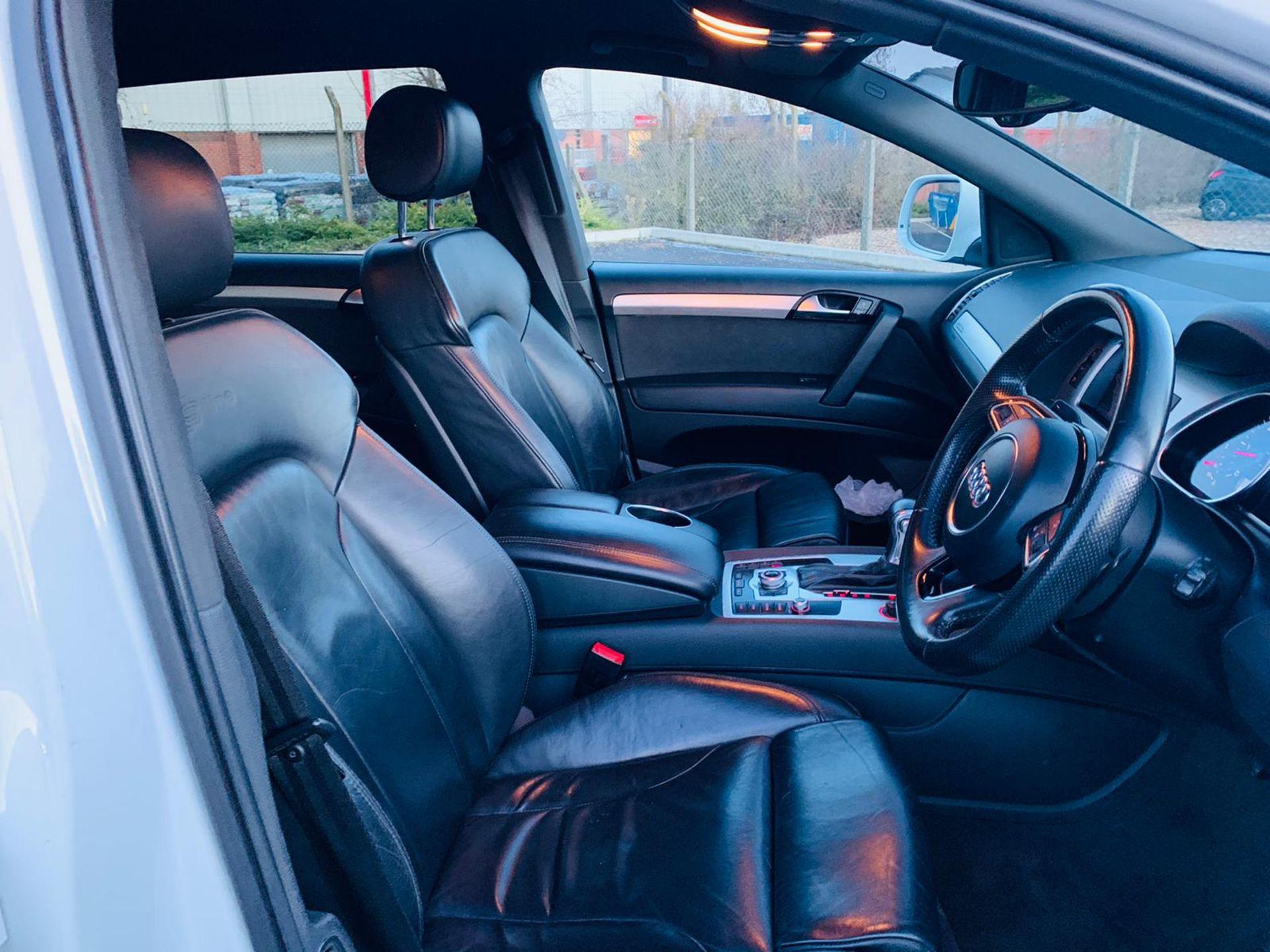 (Reserve Met)Audi Q7 3.0 TDI Quattro S Line Plus Auto (7 Seats) - 12 Reg - Only 63k Miles -Sat Nav- - Image 11 of 37