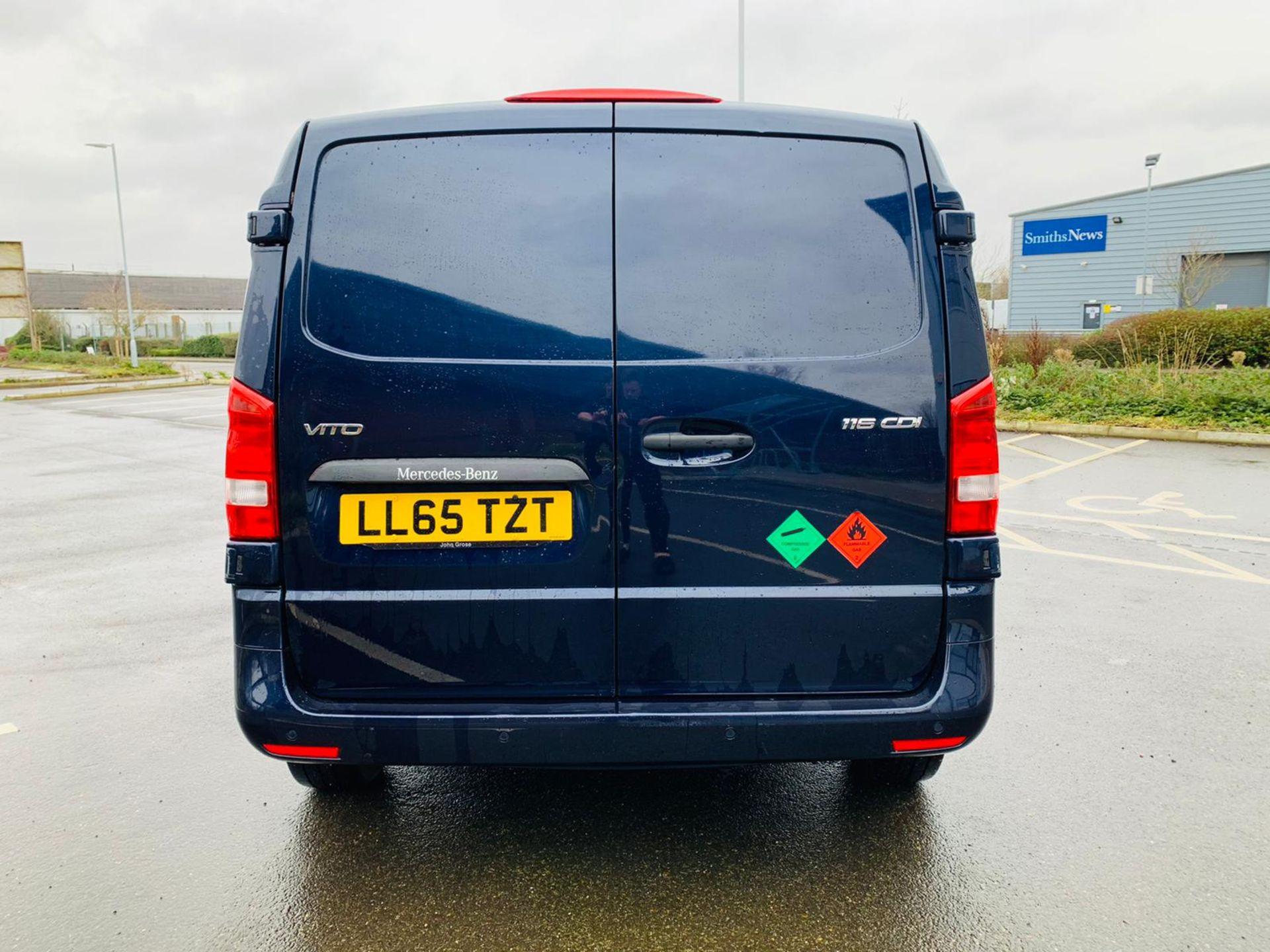 (RESERVE MET) Mercedes Vito 116Cdi Sporty Spec (161 BHP) Bluetech 6 Speed Van - 2016 Model - AC - Image 6 of 28