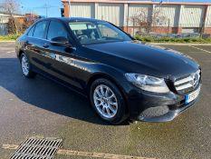 "(Reserve Met) Mercedes C220d ""Auto""(2018 Model) -1 Keeper -Low Miles - Leather - Sat Nav - Black -"