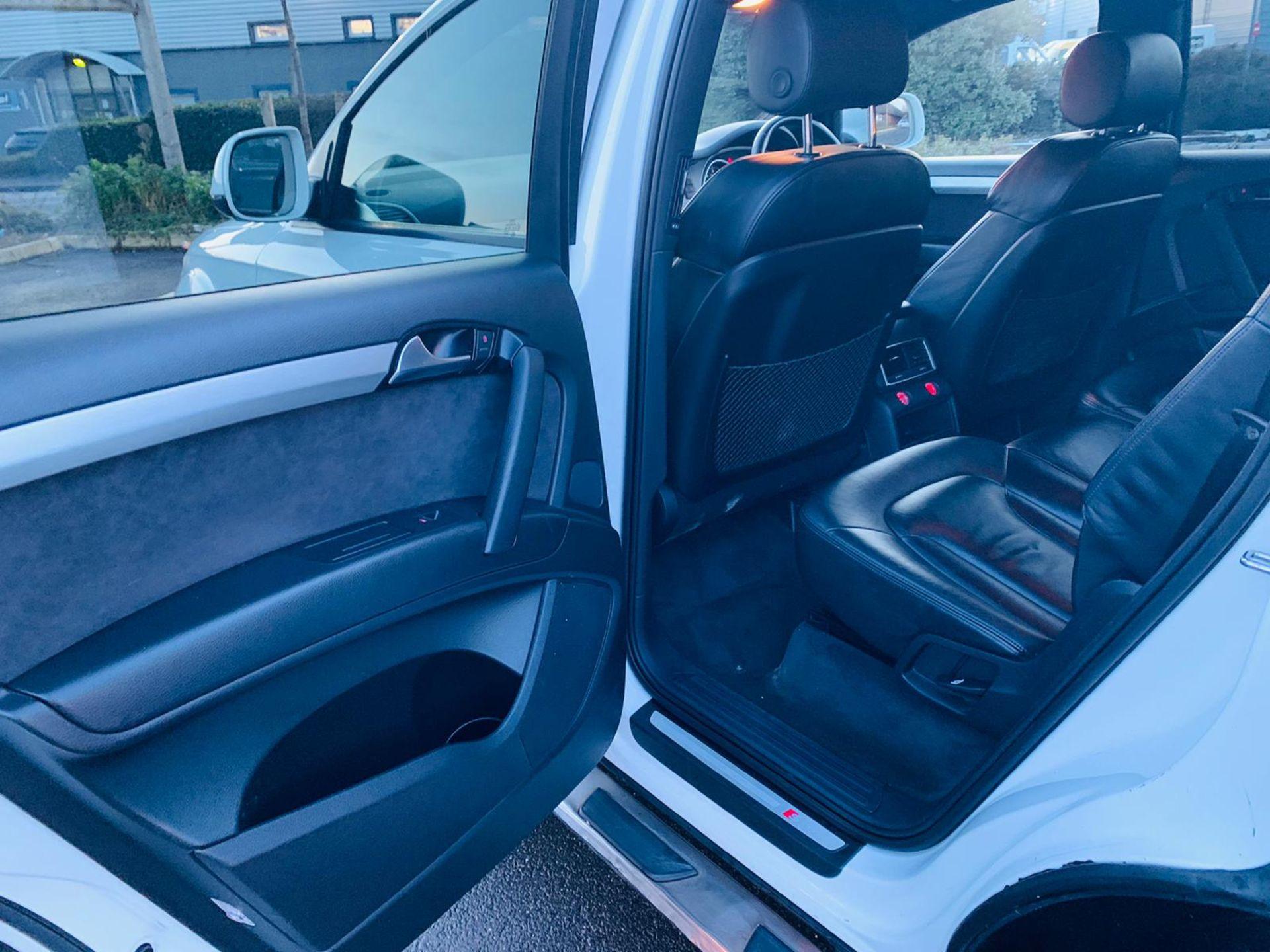 (Reserve Met)Audi Q7 3.0 TDI Quattro S Line Plus Auto (7 Seats) - 12 Reg - Only 63k Miles -Sat Nav- - Image 32 of 37