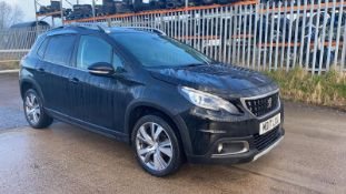 (RESERVE MET)Peugeot 2008 1.6 HDI Allure - 2017 17 Reg - Parking Pack -Service History- Part Leather