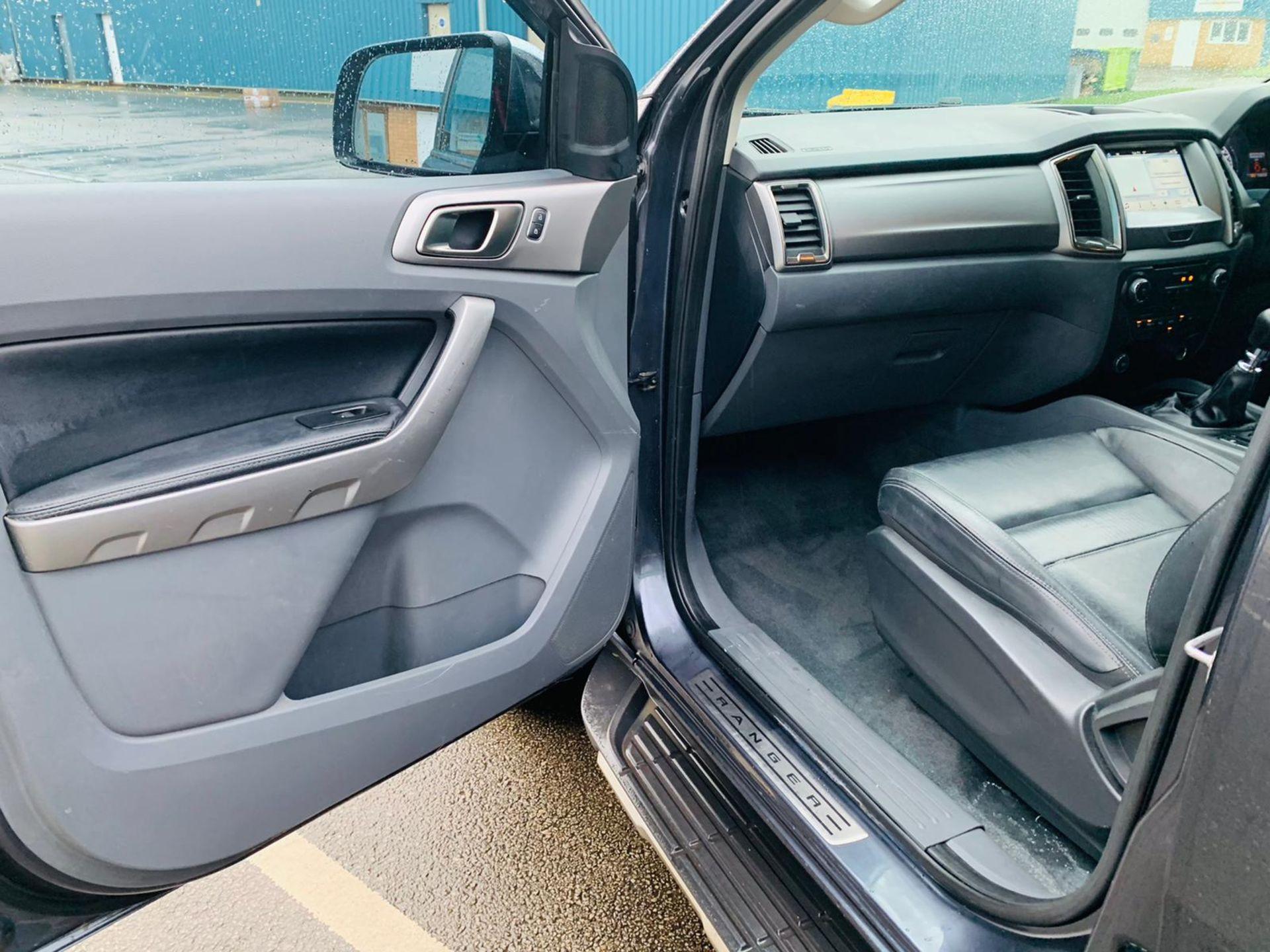 (RESERVE MET) Ford Ranger 2.2 TDCI LTD 4x4 Double Cab 2017 17 Reg - Reversing Cam -Leather - Sat Nav - Image 28 of 32