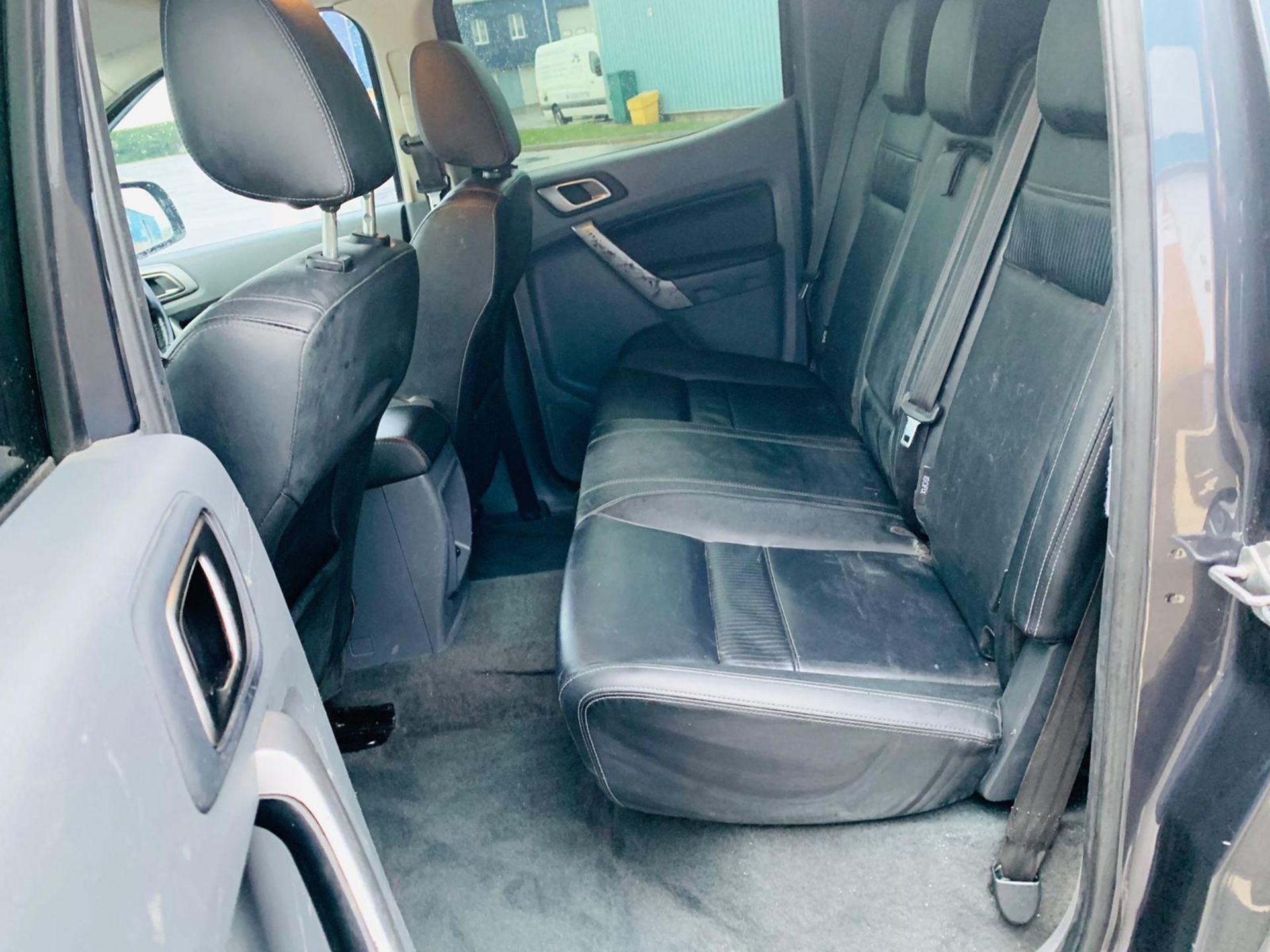 (RESERVE MET) Ford Ranger 2.2 TDCI LTD 4x4 Double Cab 2017 17 Reg - Reversing Cam -Leather - Sat Nav - Image 30 of 32