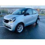 (RESERVE MET) Smart ForFour 1.0 Passion 5dr 2016 16 Reg - Cruise Control -Bluetooth - LED Day Lights