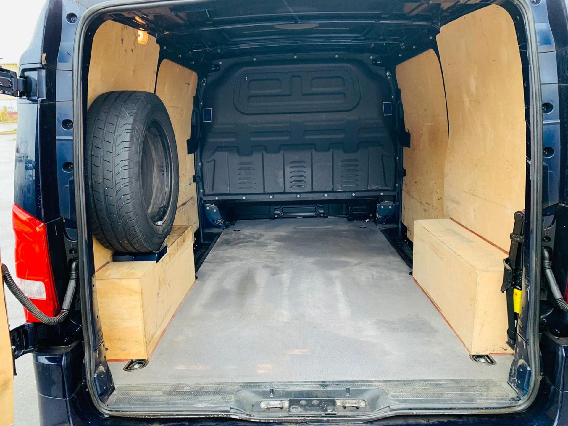 (RESERVE MET) Mercedes Vito 116Cdi Sporty Spec (161 BHP) Bluetech 6 Speed Van - 2016 Model - AC - Image 12 of 28