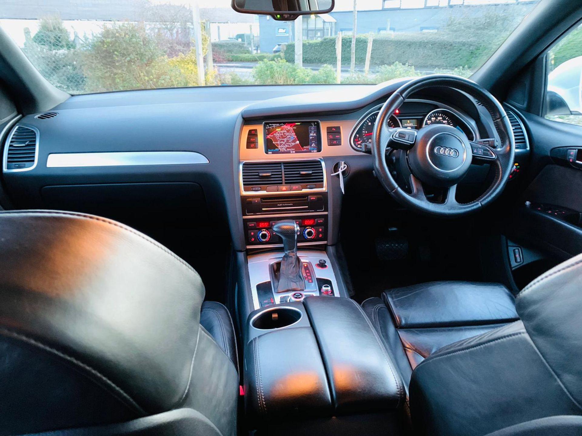 (Reserve Met)Audi Q7 3.0 TDI Quattro S Line Plus Auto (7 Seats) - 12 Reg - Only 63k Miles -Sat Nav- - Image 12 of 37