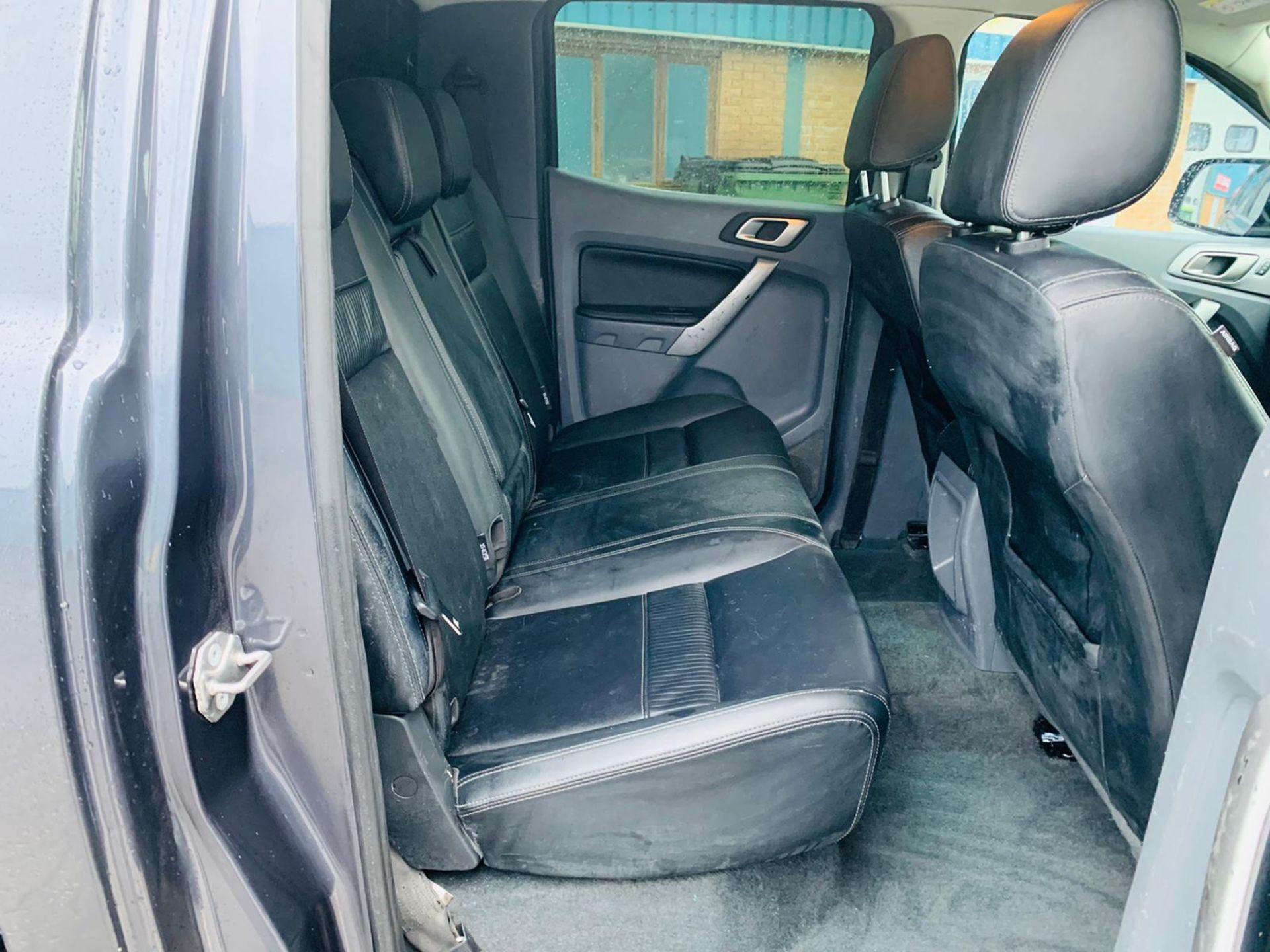 (RESERVE MET) Ford Ranger 2.2 TDCI LTD 4x4 Double Cab 2017 17 Reg - Reversing Cam -Leather - Sat Nav - Image 31 of 32