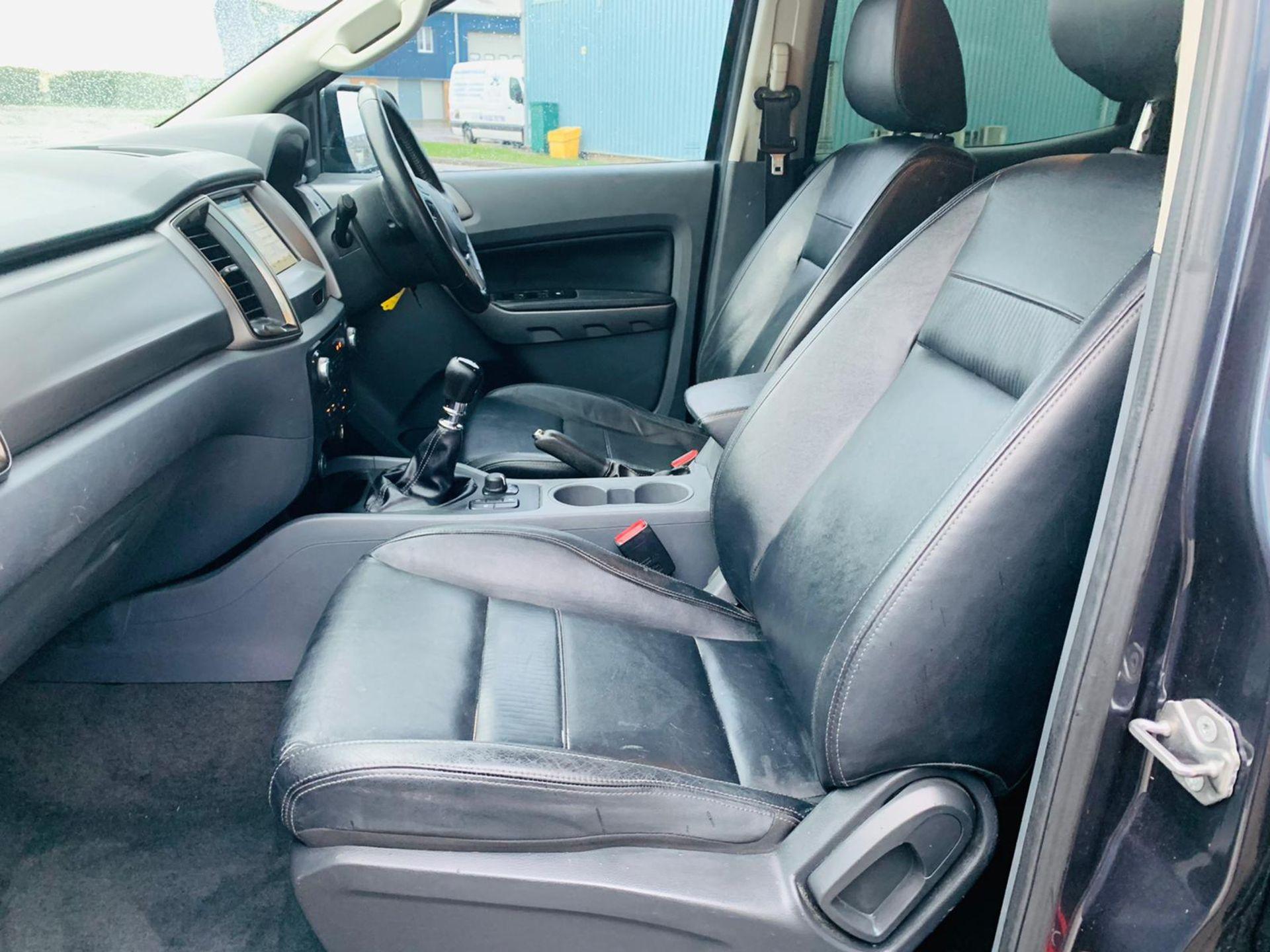(RESERVE MET) Ford Ranger 2.2 TDCI LTD 4x4 Double Cab 2017 17 Reg - Reversing Cam -Leather - Sat Nav - Image 29 of 32