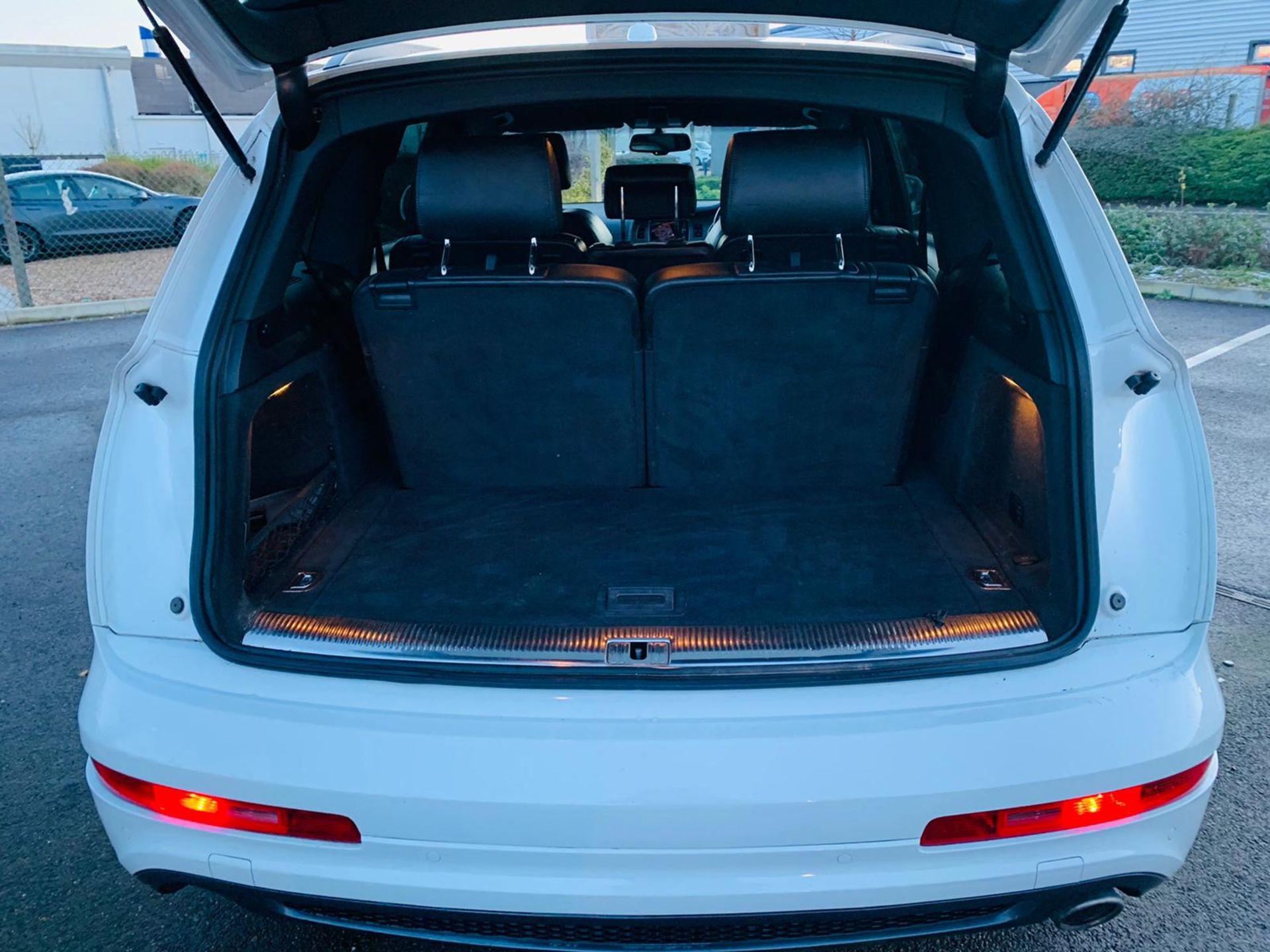 (Reserve Met)Audi Q7 3.0 TDI Quattro S Line Plus Auto (7 Seats) - 12 Reg - Only 63k Miles -Sat Nav- - Image 10 of 37