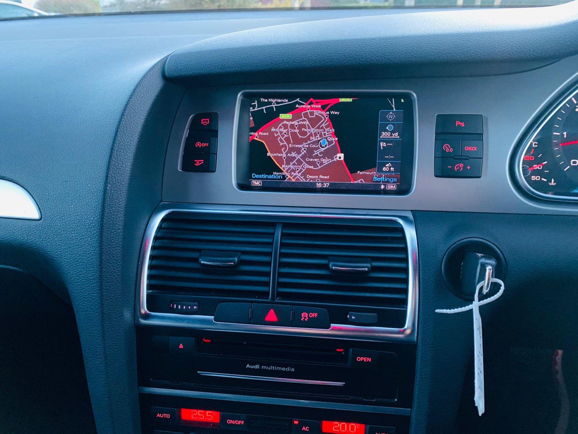 (Reserve Met)Audi Q7 3.0 TDI Quattro S Line Plus Auto (7 Seats) - 12 Reg - Only 63k Miles -Sat Nav- - Image 25 of 37