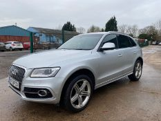 Audi Q5 2.0 TDI S Line Plus Quattro - 2014 Model - Sat Nav - Parking Sensors - Leather
