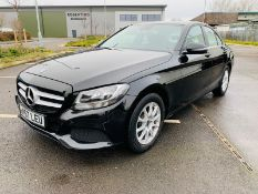 (RESERVE MET) Mercedes C220d 2018 - 35k Miles Only - Leather - Sat Nav - Obsidian Black Metallic