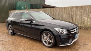 """(RESERVE MET)Mercedes C300h """"AMG LINE"""" Premium Plus Auto Estate - 16 Reg - 81K Miles - Pan Roof"""