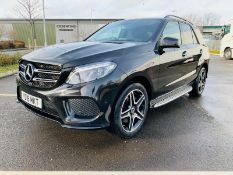Mercedes GLE 250d 4Matic AMG Night Edition 9G Tronic - 2018 18 Reg - Only 31K Miles - BIG SPEC