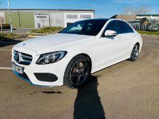 (RESERVE MET) Mercedes C300H AMG Line Premium Auto Electric Diesel Hybrid- 2016 Model - Pan Roof -