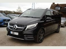 Mercedes V220d AMG Line 9G-Tronic (Extra Long) 2020 Model - Full Leather - Reverse Camera - Sat Nav