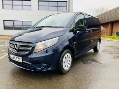 (RESERVE MET) Mercedes Vito 116Cdi Sporty Spec (161 BHP) Bluetech 6 Speed Van - 2016 Model - Air Con