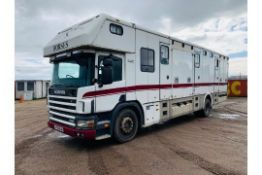 Scania 94D 260 'George Smith Built' Horsebox 2000 Reg - TOP SPEC - Carries 4/6 Horses