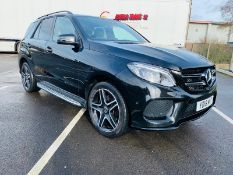 (RESERVE MET)Mercedes GLE 250d 4Matic AMG Night Edition 9G Tronic - 2018 18 Reg - Only 31K Miles -