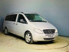 (Reserve Met) Mercedes Vito 120 CDI (3.0 V6) Auto 8 Seater MPV Combi Van - 2008 08 Reg - Air Con