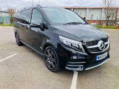 (Reserve Met)Mercedes V220d AMG Line 9G-Tronic (Extra Long) 2020 Model - Full Leather - Sat Nav