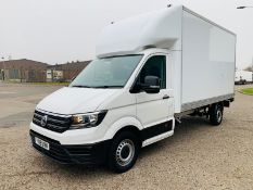 (RESERVE MET) Volkswagen (VW) Crafter Luton LWB CR35 2.0 TDI- 2019 19 Reg - 1 Owner - Euro6-TailLift
