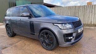 (RESERVE MET) Range Rover Vogue 3.0 TDV6 SE Auto - Black Pack - NEW SHAPE - FULLY LOADED - Pan Roof