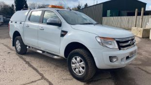 (RESERVE MET) Ford Ranger 2.2 TDCI XLT Double Cab 4x4 - 2015 Model - Service History - Tow Bar