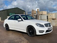 (Reserve Met) Mercedes C350 CDI AMG Sport Plus (V6 262 BHP) Auto - 2013 Model - Sat Nav - BIG SPEC