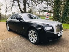 "(RESERVE MET) Rolls Royce Ghost V12 ""The Ultimate Limousine"" Monster Spec (2011) New Shape"