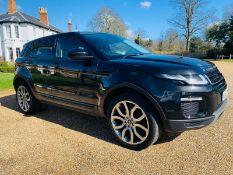 (RESERVE MET) Range Rover Evoque 2.0 ED4 SE Tech - 2016 16 Reg - Leather - Parking Sensors