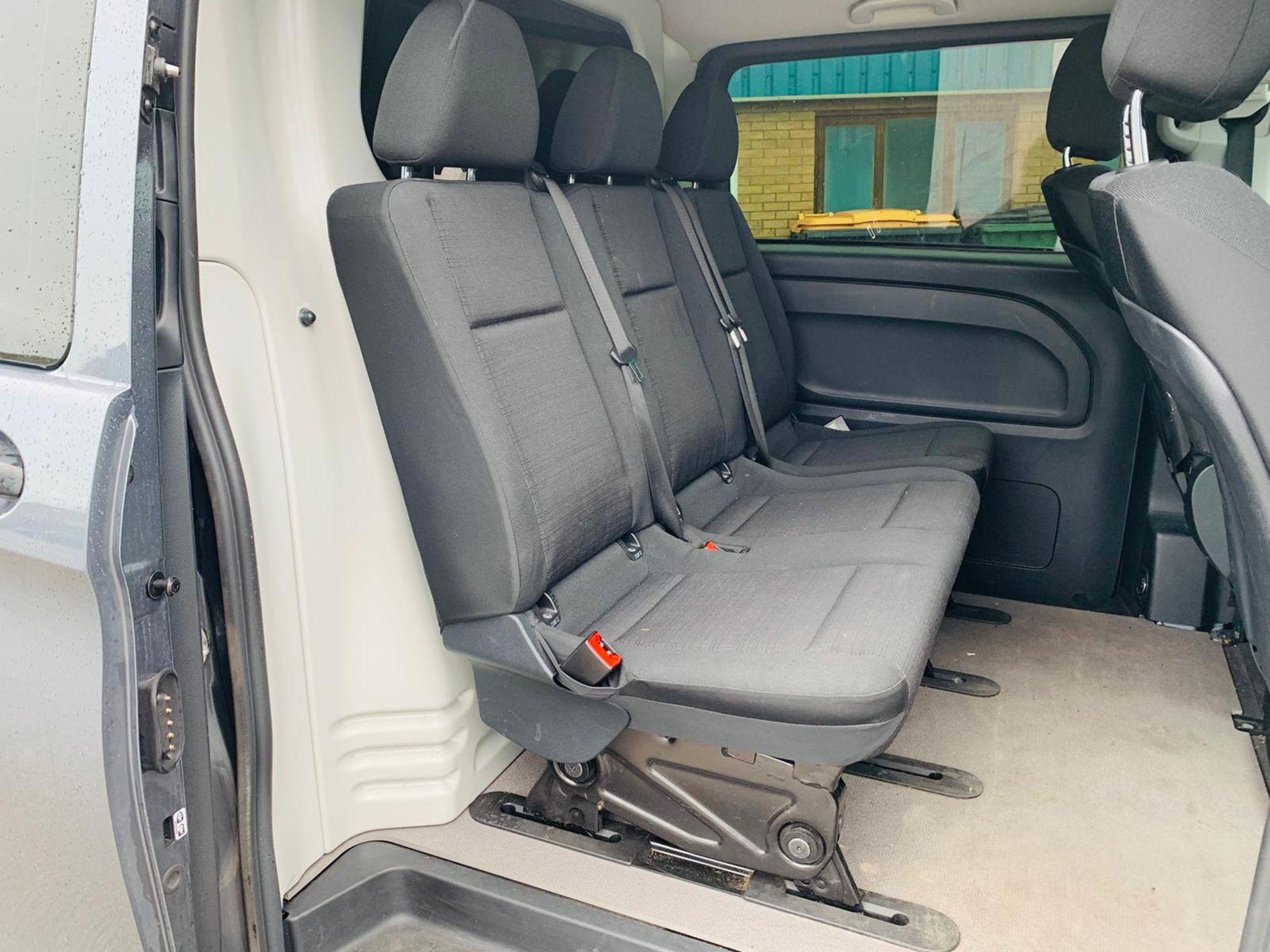 Mercedes Vito 114 Bluetec Dualiner/Crew Van - Auto - Air Con - 2018 18 Reg - 1 Owner From New - Image 25 of 25