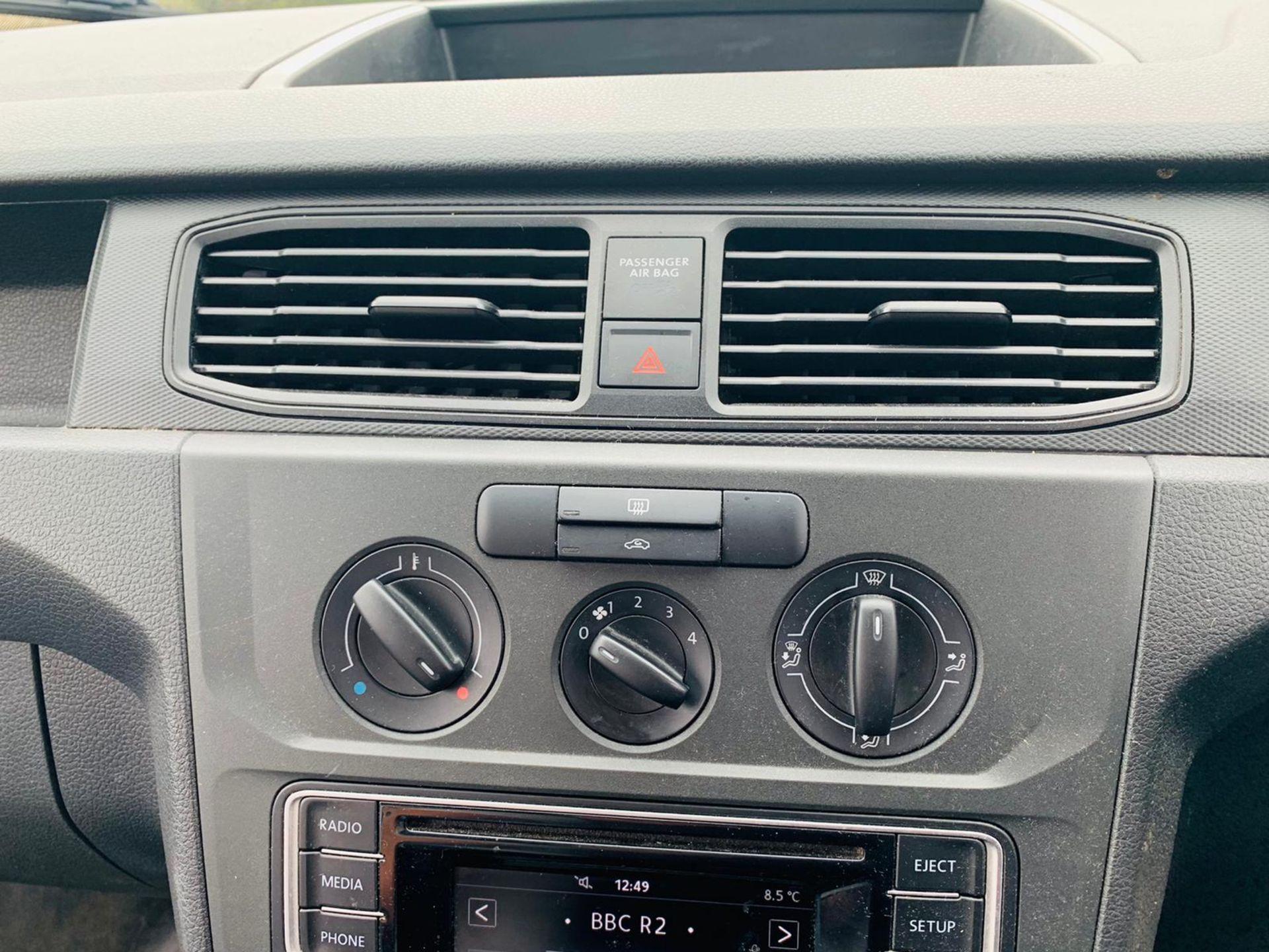 (RESERVE MET)Volkswagen (VW) Caddy 2.0 TDI C20 Startline - 2017 17 Reg - Euro 6 - ULEZ Compliant - - Image 16 of 20