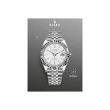 Rolex Datejust 41White Dial, Jubilee Bracelet Ref 126334, BRAND NEW