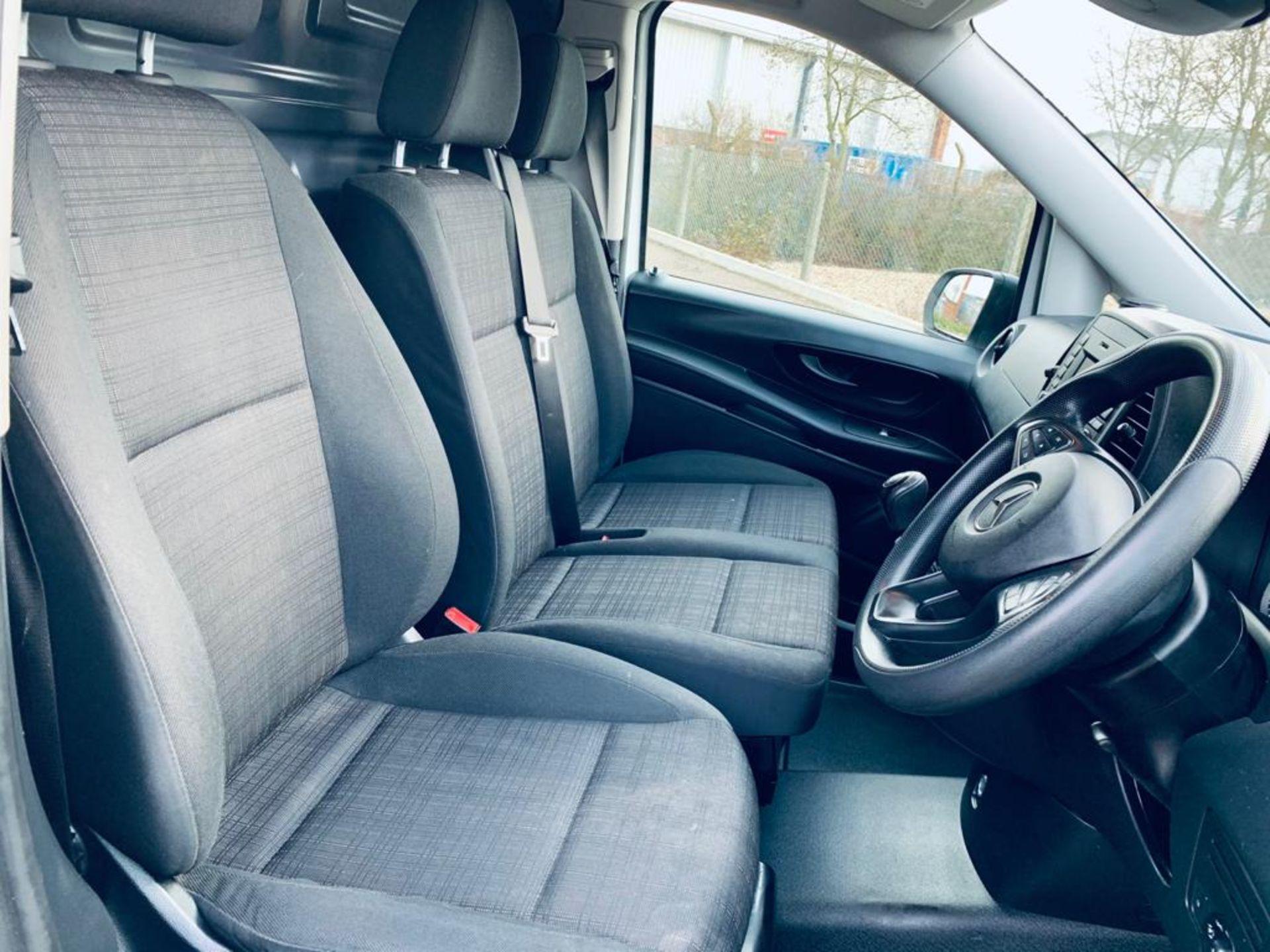 Reserve Met - Mercedes Vito 114CDI Bluetec 2018 18 Reg LWB - Air Con - Euro 6 - FSH - ULEZ - 1 Owner - Image 13 of 26
