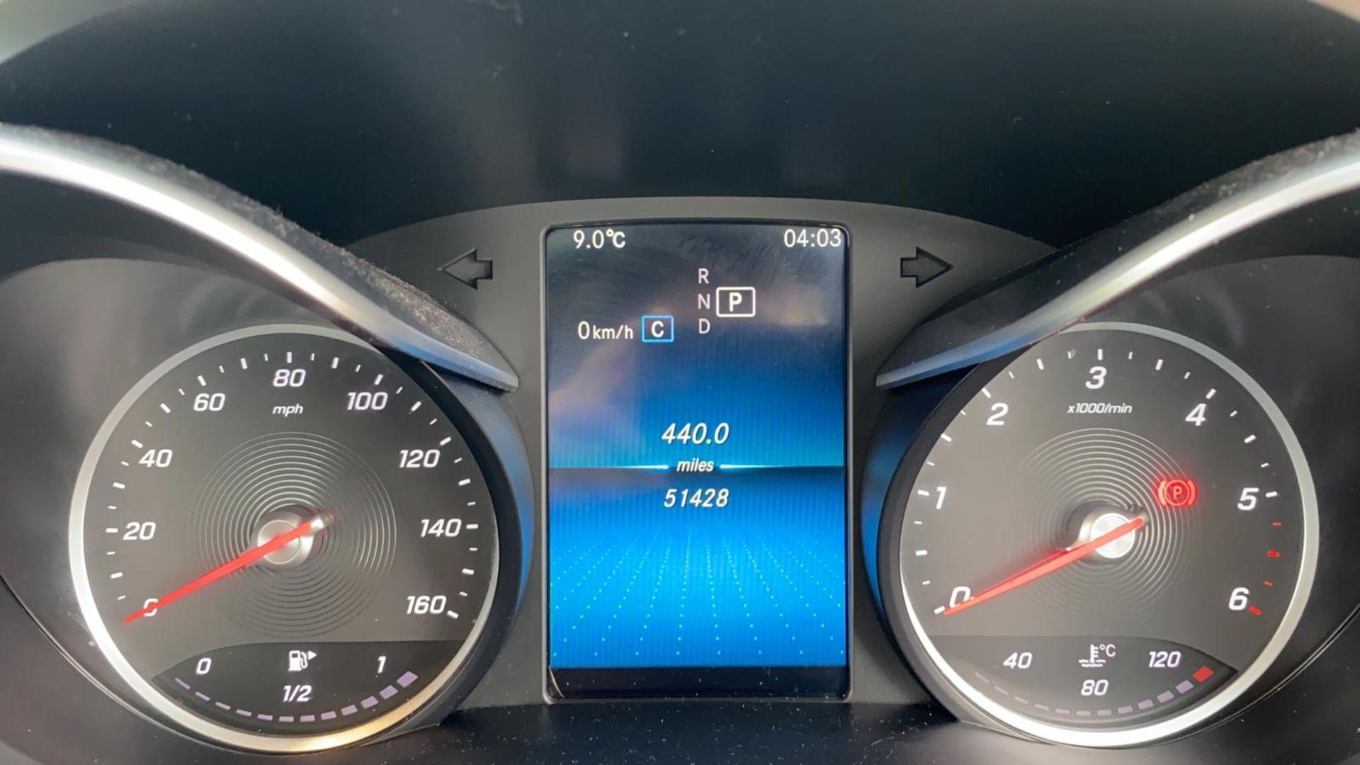 (Reserve Met) Mercedes C220d Sport - 9G Tronic Auto - 188BHP - 2019 Reg - Reversing Cam - Sat Nav - - Image 7 of 7